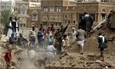 حمله سعودیها به انبار دارو و غذا در حدیده