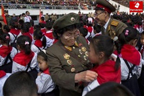 جشنهای ماه آوریل در کرهشمالی با خیال راحت در حال برگزاری است!