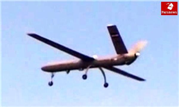 نمایش «سریر» پهپاد جدید پدافند هوایی در رژه ارتش