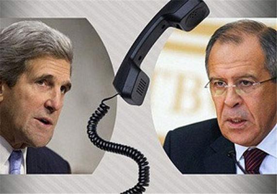 گفتگوی تلفنی لاوروف و کری درباره بحران سوریه