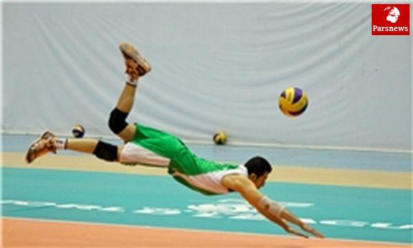 کاله آمل از سد تیم ملی والیبال گذشت