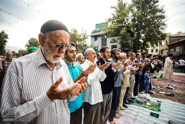 اقامه نماز عید سعید فطر در کرج