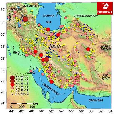 مقصد بعدی زلزلههای اخیر ایران کجاست؟