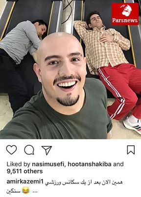 چهره ها در شبکههای اجتماعی /تصاویر