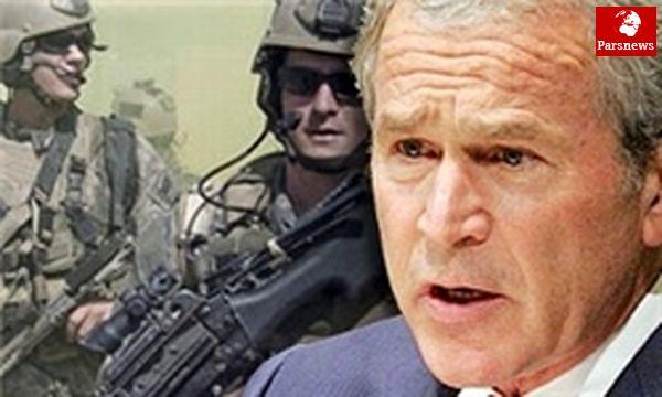 جورج بوش: از جنگ عراق راضی هستم