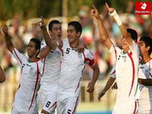 پیروزی پرگل تیم ملی نوجوانان برابر امارات