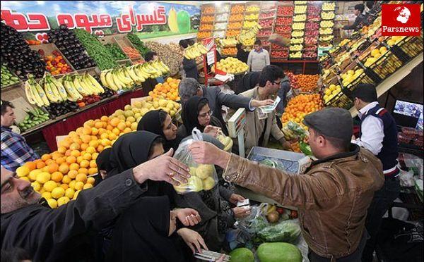 قیمت سیب به ۱۱۵۰۰تومان رسید
