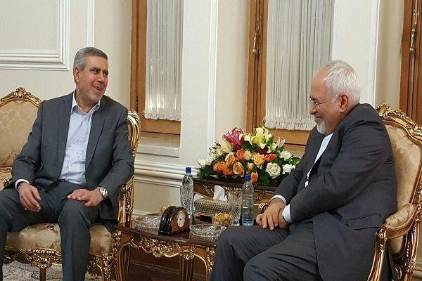 دیدار معاون سابق رئیسجمهور عراق با ظریف