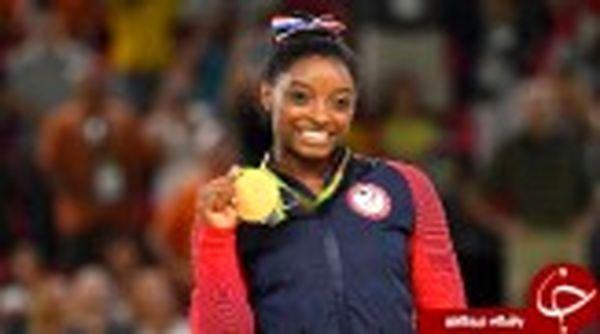 دختر ژیمناست، برترین ورزشکار سال شد