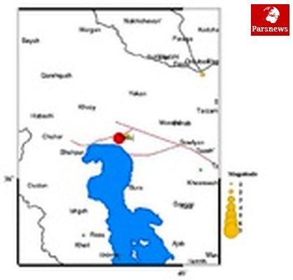 جمعیت تحت تأثیر زمینلرزه آذربایجان شرقی