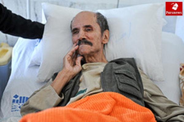 آخرین وضعیت جسمانی سعدی افشار در بیمارستان