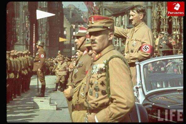 آلمانها می خواستند ازفضا شهرها را بسوزانند