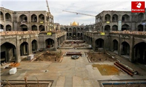 بخش زیارتی صحن حضرت زهرا(س) در سال 96 آماده می شود