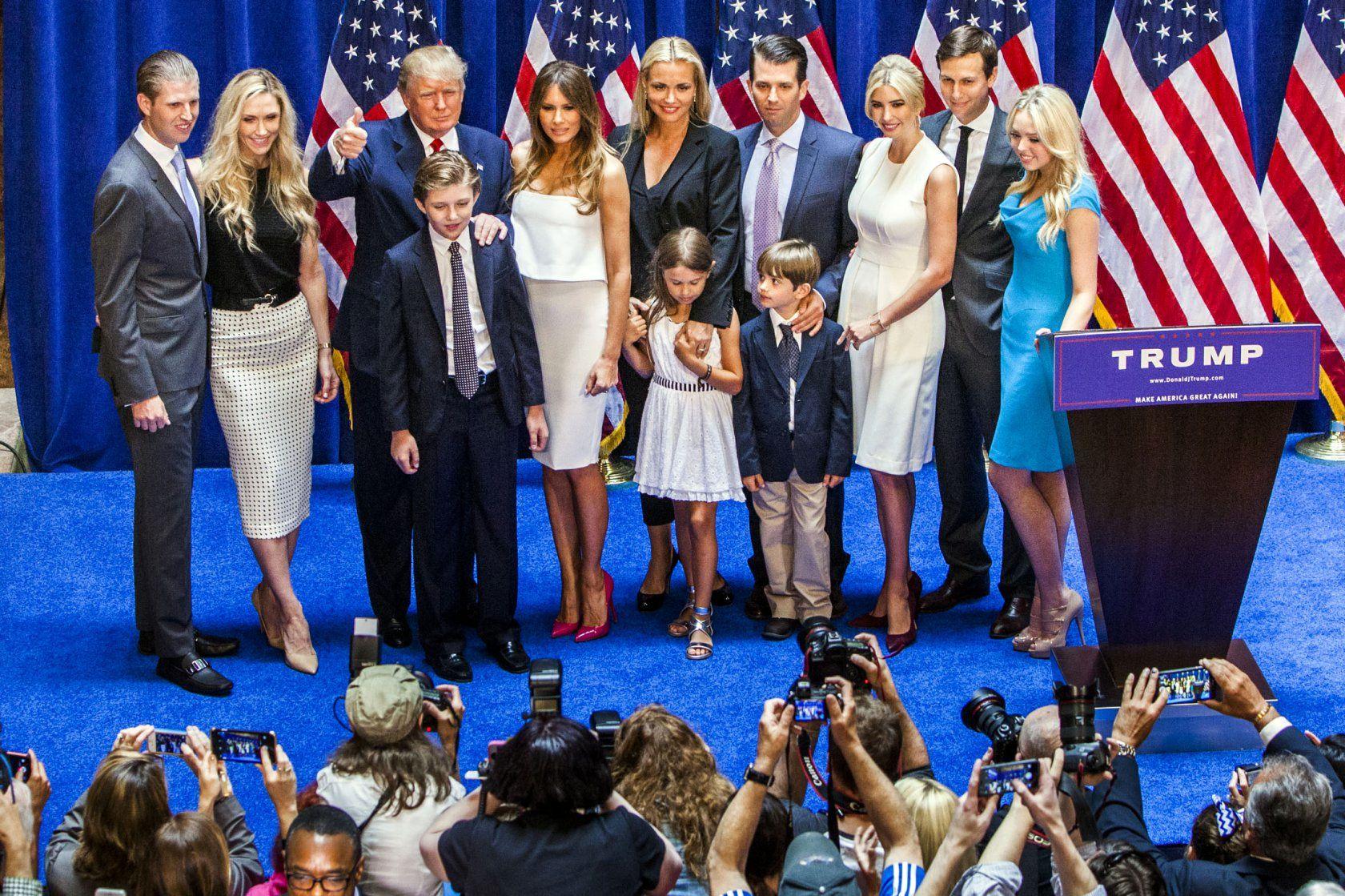 خانواده ترامپ1