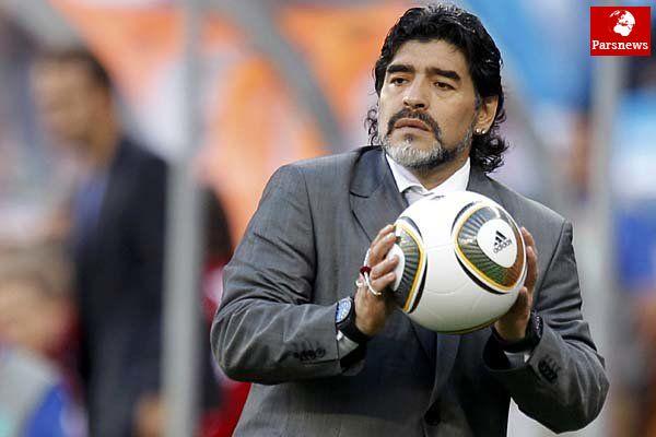 بهترین مربی جهان از نگاه مارادونا