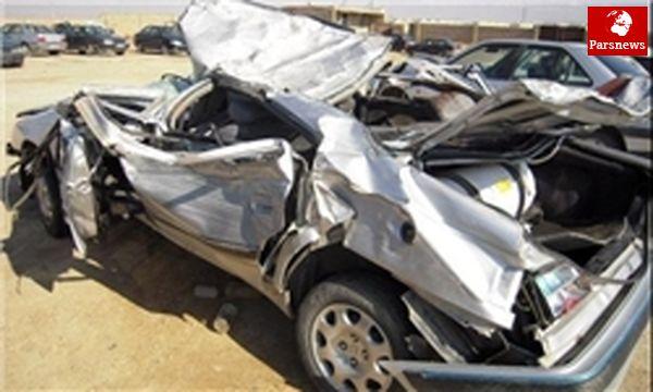 حوادث رانندگی در روز گذشته