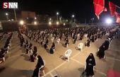 مداحی «با حسین نفس می کشم» با نوای سید مجید بنی فاطمه