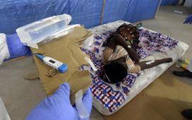 هیولای ابولا در حال بلعیدن غرب آفریقا