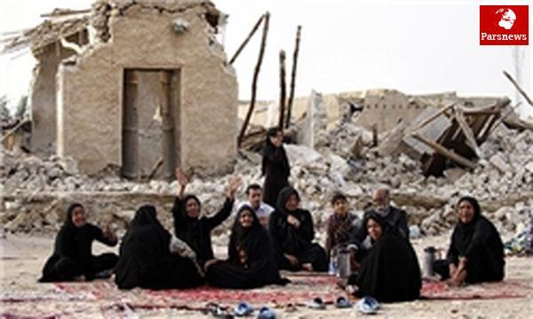 پیکر قربانیان زلزله دشتی تشییع شد