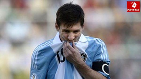 """"""" مسی"""" در حسرت رسیدن به"""" مارادونا"""""""