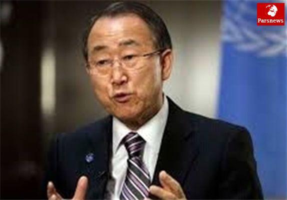 ادعای بان کی مون درخصوص نقض تحریمهای ایران