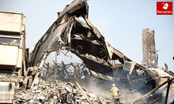 اعزام آتشنشانان کرج به تهران